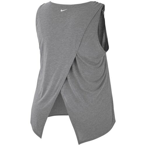 Nike Yogatop »WOMEN YOGA COLLECTION TANK PLUS SIZE«, grau-meliert