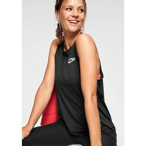 Nike Yogatop »W NK YOGA COLLECTN TNK KEY GRX«, schwarz
