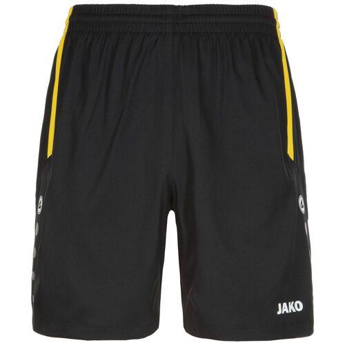 Jako Sporthose Turin Herren, schwarz/gelb