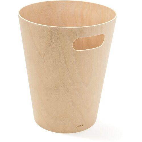 """Umbra Papierkorb »Papierkorb """"Woodrow""""«, natur"""
