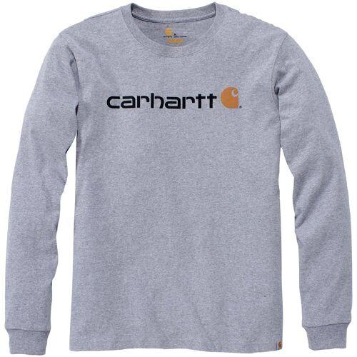 Carhartt Longpullover »CORE«, grau