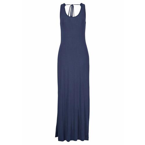 s.Oliver Beachwear Maxikleid, dunkelblau