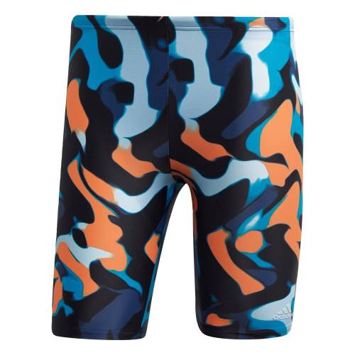 Adidas Performance Primeblue Jammer-Badehose Blau-Orange