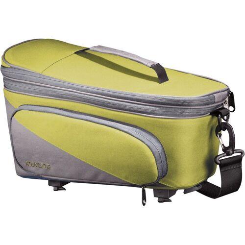 racktime Fahrradtasche »Talis Plus« (2-tlg), grün/grau