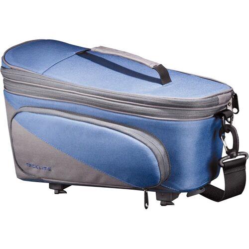 racktime Fahrradtasche »Talis Plus« (2-tlg), blau/grau