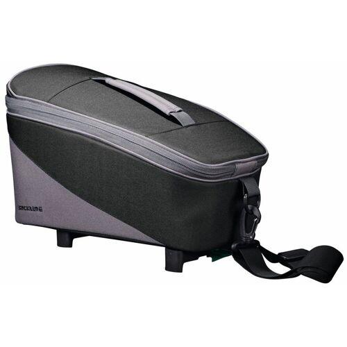 racktime Fahrradtasche »TALIS« (2-tlg), schwarz/grau
