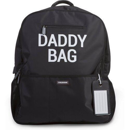 CHILDHOME Wickelrucksack »Wickelrucksack Daddy Bag, schwarz«