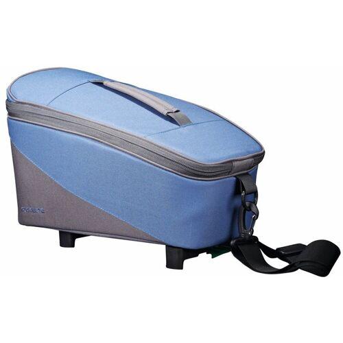 racktime Fahrradtasche »TALIS« (2-tlg), blau/grau