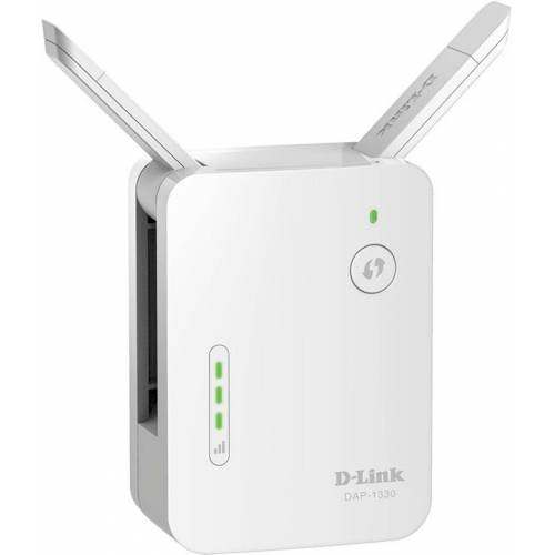 D-Link Repeater »DAP-1330/E Wireless Range Extender N300«, Weiß