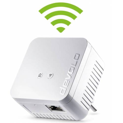 Devolo »Powerline + WLAN, 1xLAN, WLAN, Slim-Design)« LAN-Router, dLAN 550 WiFi (500Mbit