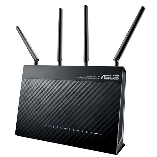 Asus DSL-AC87VG »WLAN-Modemrouter«, Schwarz