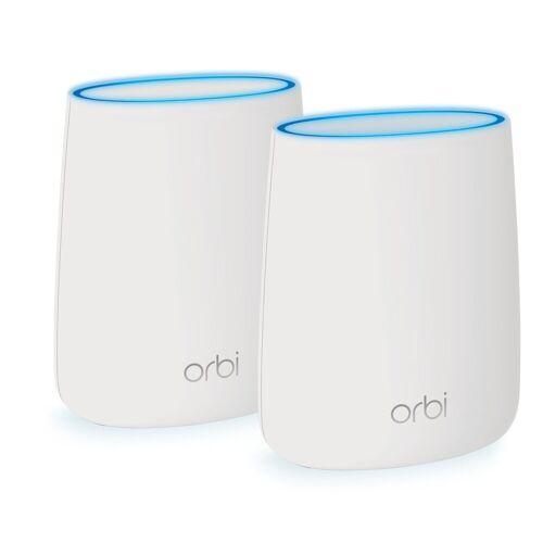 Netgear Orbi AC2200-WLAN-System (RBK20) »Schnelles WLAN-Heimnetzwerk«, weiß