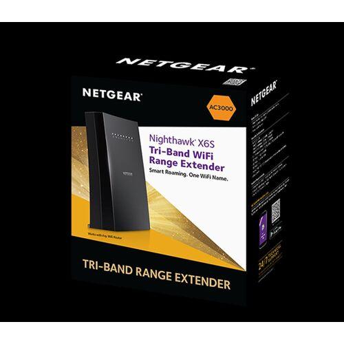 Netgear Nighthawk® Tri-Band-WLAN-Repeater X6S »EX8000«, schwarz