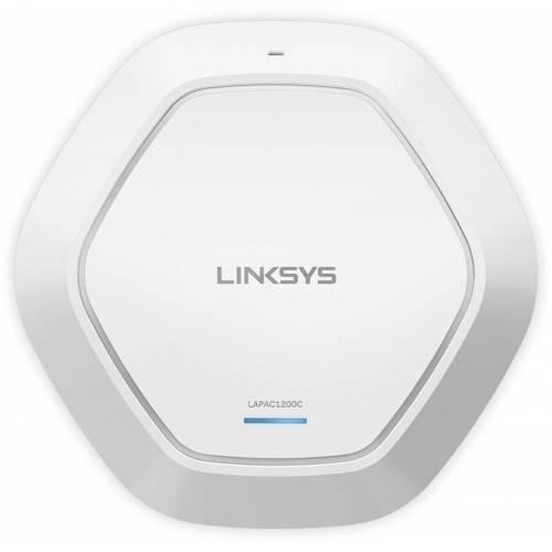 Linksys WLAN Access-Point »AC1200 Dual-Band Cloud WLAN Access Point«, Weiß