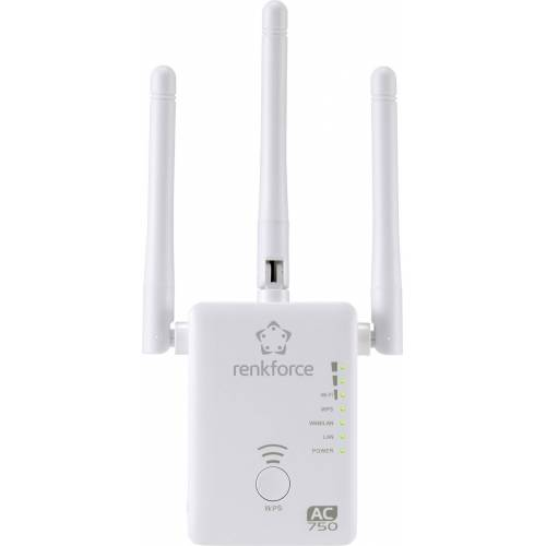 Renkforce »AC750 Dualband WLAN-Router/Repeater/AP« WLAN-Antenne