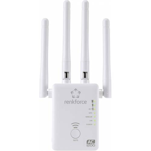 Renkforce »AC1200 Dualband WLAN-Router/Repeater/AP« WLAN-Antenne