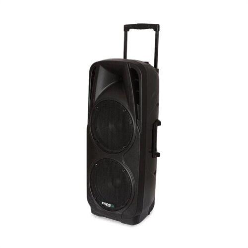 Ibiza Rocks Port 225 VHF-BT Mobile PA-Beschallungsanlage Bluetooth USB SD AUX MP3 VHF Stand-Lautsprecher