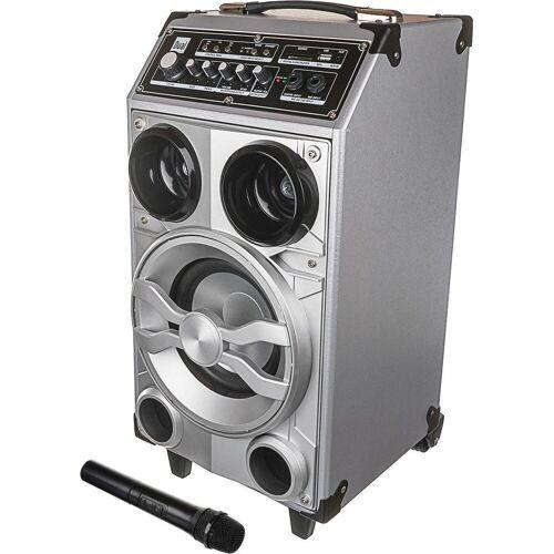 Dual »DSBX 100« Stereoanlage (FM-Tuner, 50 W), silberfarben