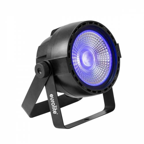 EuroLite Discolicht »UV Schwarzlicht LED Strahler - DMX Ansteuerung - 40° Abstrahlwinkel - Musiksteuerung«