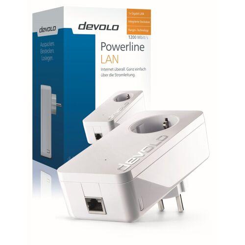 Devolo »Powerline, 1xGB LAN, Steckdose, Netzwerk, range)« LAN-Router, dLAN 1200+ (1200Mbit