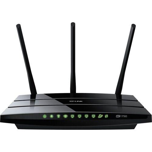 TP-Link Router »Archer C7 - AC1750 Dualband«, Schwarz