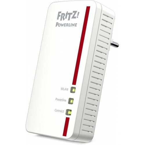 AVM Powerline »FRITZ!1260E WLAN AC Single 1200 MBit«, Weiß