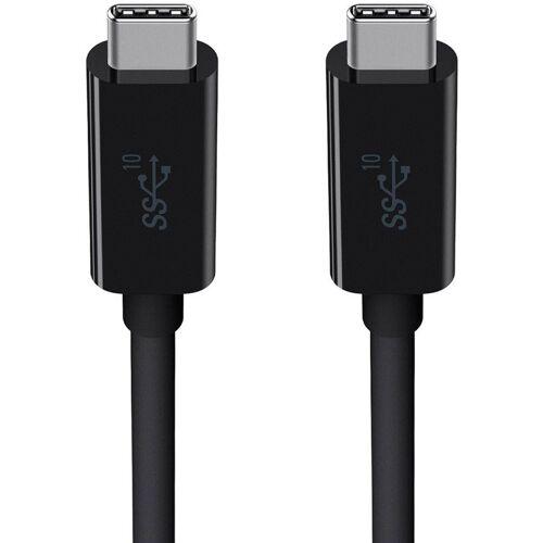 Belkin »USB-C auf USB-C Kabel (USB 3.1, 5A/100W)« USB-Kabel, USB-C, USB-C (100 cm), Datenkabel