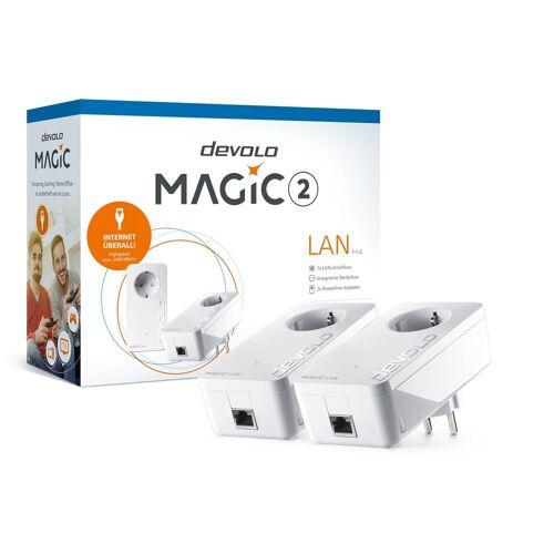 Devolo Magic 2 LAN 1-1-2 »Starter-Kit«, weiß