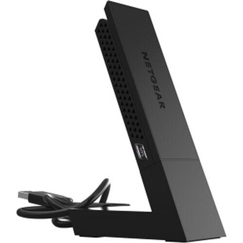 Netgear A6210-100PES »AC1200 High Gain WLAN USB Adapter«, schwarz