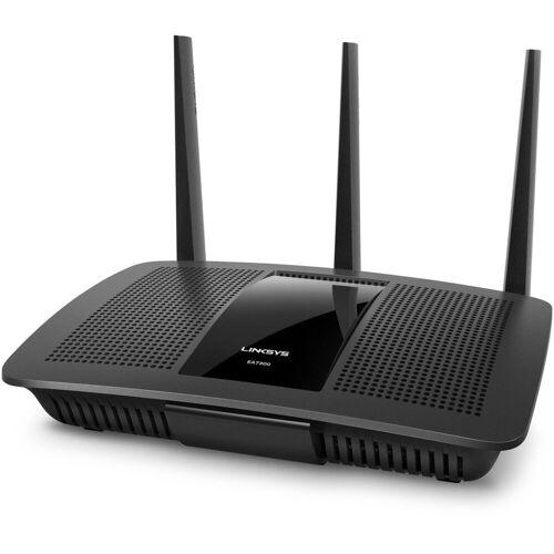 Linksys Router »EA7300 Max-Stream AC1750 Gigabit WLAN-Router«, Schwarz