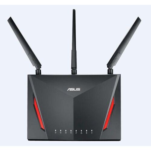 Asus RT-AC86U »AC2900 Dual Band WLAN-Gaming-Router«, schwarz