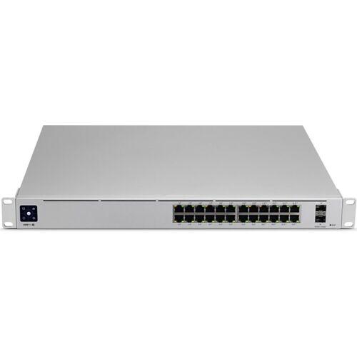 UbiQuiti »UniFi Switch 24-port 10/100/1000 USW-PRO-24-POE« Netzwerk-Switch