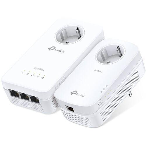 TP-Link Powerline »TL-WPA8630P KIT AV1200 Powerline 2er WLAN AC«, Weiß