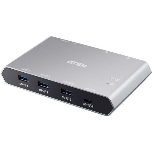 Aten »US3342 2-Port USB-C Gen 2 Sharing Switch« USB-Kabel