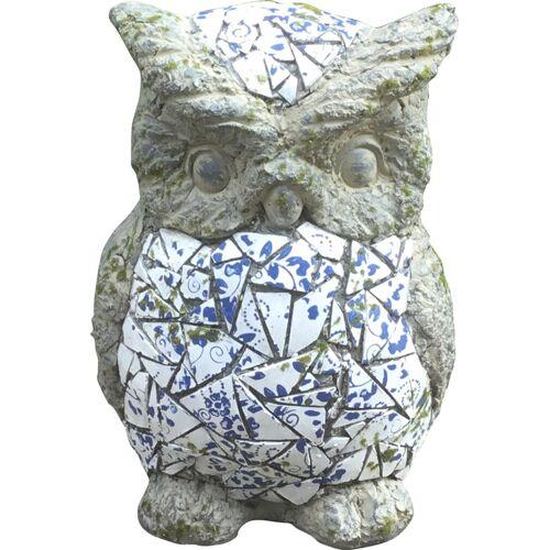 HTI-Line Gartendeko »Mosaik Eule«, Bunt