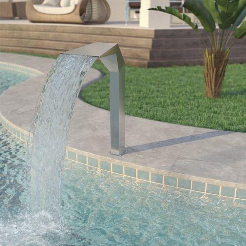 vidaXL Poolwasserfall