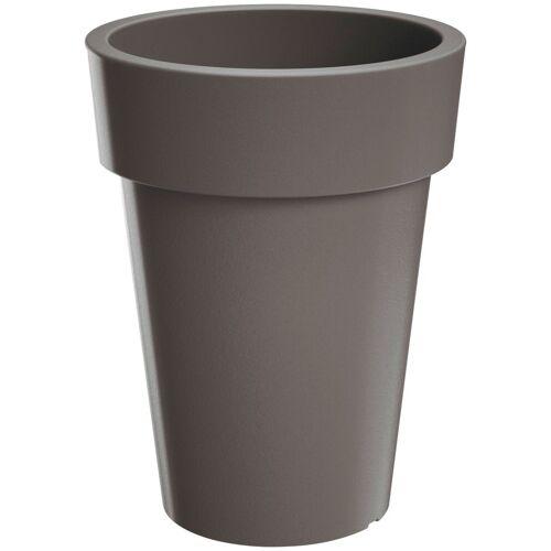 Prosperplast Blumentopf »Lofly Slim 400«, grau, Ø/H: 40/52 cm, grau
