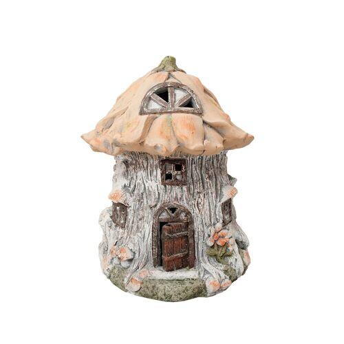 HTI-Line Dekofigur »Gartendeko Fairytale Blumenhaus« (1 Stück), Gartendeko
