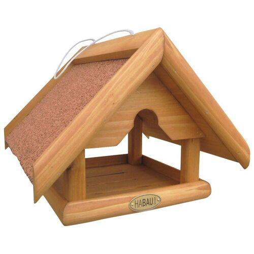 Habau Vogelhaus »Bergfink«, BxTxH: 25x25x20 cm, braun