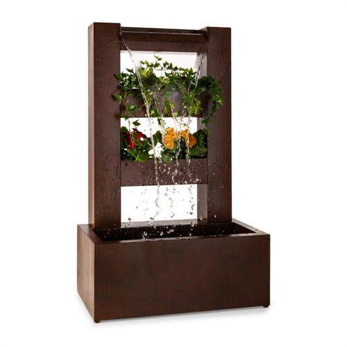 blumfeldt Gartenbrunnen »Lemuria Gartenbrunnen Pflanzschale Wasserspiel Pumpe 30W 10m Kabel Indoor & Outdoor«, 50 cm Breite