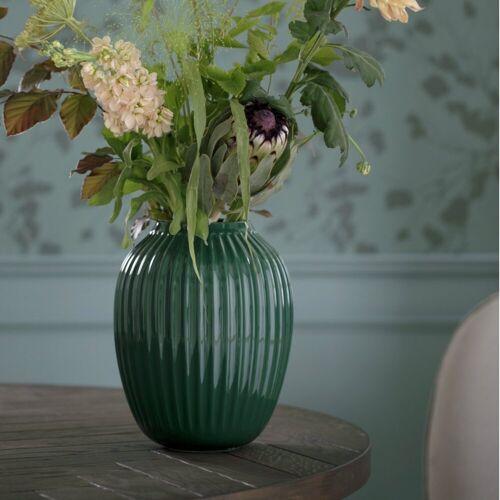 Kähler Vase Hammershøi 20 cm, grün, grün