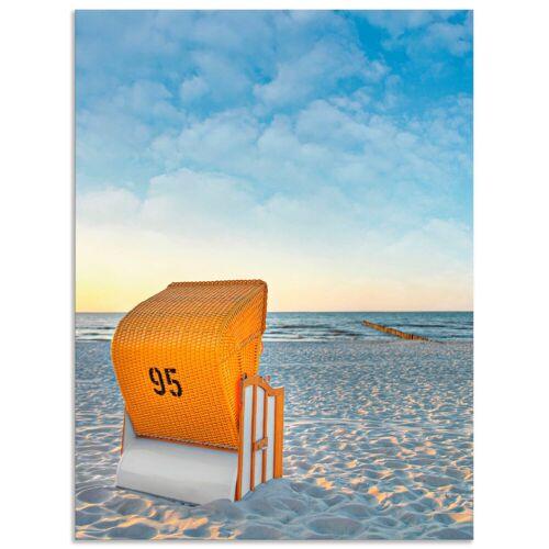 Artland Wandbild »Ostsee7 - Strandkorb«, Strand (1 Stück)
