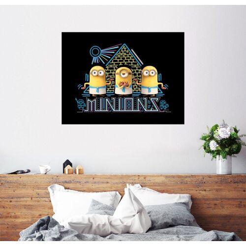 Posterlounge Wandbild, Minions in Ägypten