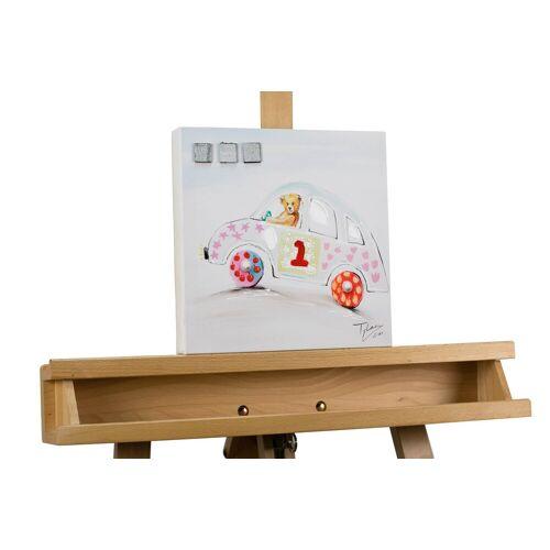 KUNSTLOFT Kunstdruck »Catch Me If You Can«, handbemaltes Wandbild auf Leinwand