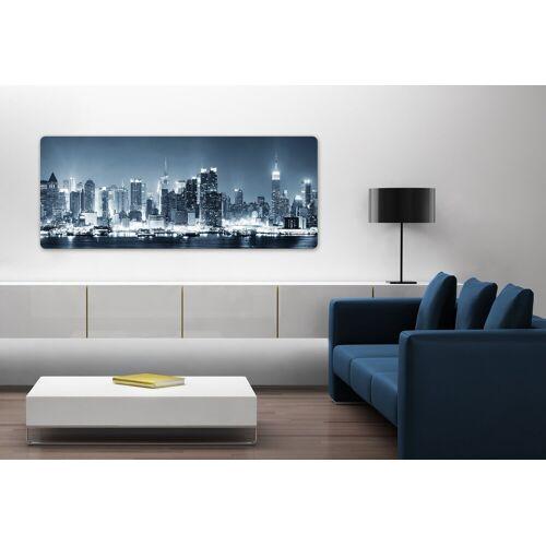 Home affaire Glasbild »New York at Night Panorama«, 100/40 cm