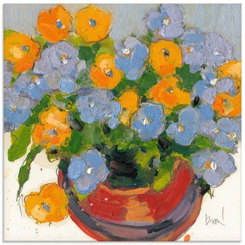 Artland Glasbild »Gepflanzte Blume I«, Blumen (1 Stück)