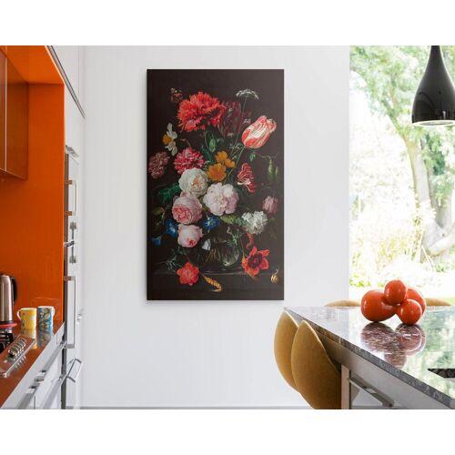 Leinwandbild »Giclee on Canvas 70x118 Jan Davidsz de Heem - Stillife Flowers«