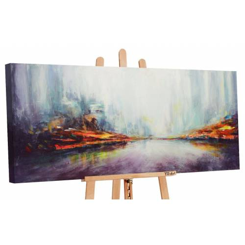 ART YS-Art Gemälde »Die Größe der Stadt 031«