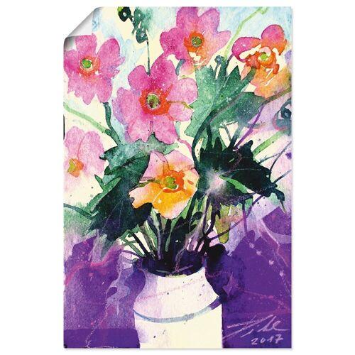 Artland Wandbild »Herbst-Anemonen in Vase«, Blumen (1 Stück)