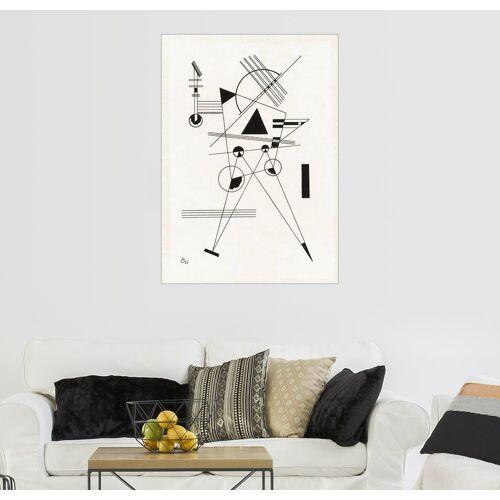 Posterlounge Wandbild - Wassily Kandinsky »Lithographie no. I«, weiß
